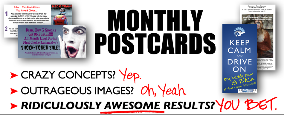 Monthly Postcards