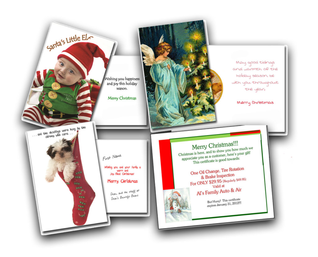 Holiday Greeting Cards New Customers Now